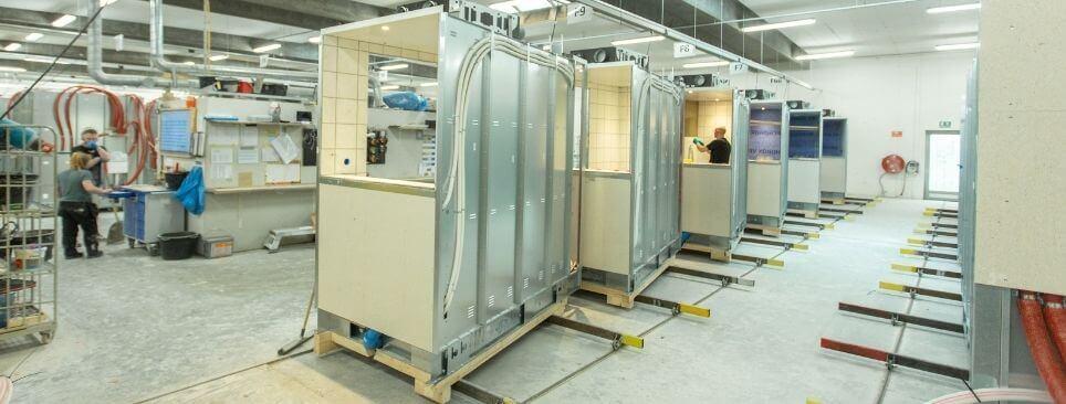 konstruktion badeværelser